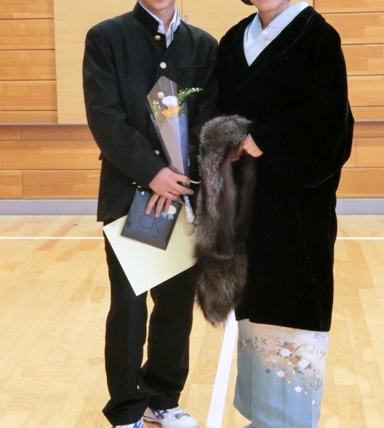高校 卒業式