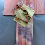 着物コレクション 付下げピンク (1)