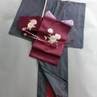 着物のコーディネート 紬