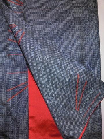 着物のコーディネート 紬八卦