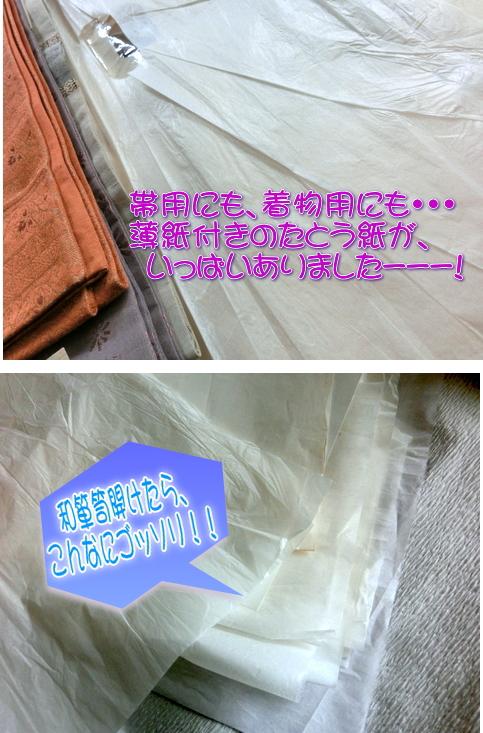 たとう紙 薄紙 虫の原因
