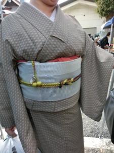 骨董市にて 素敵な着物姿