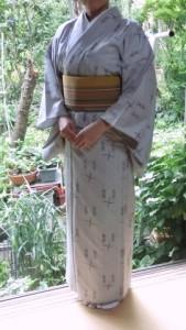 単衣の着物