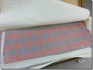 結城紬の単衣 (1)