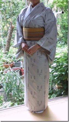 単衣の着物2