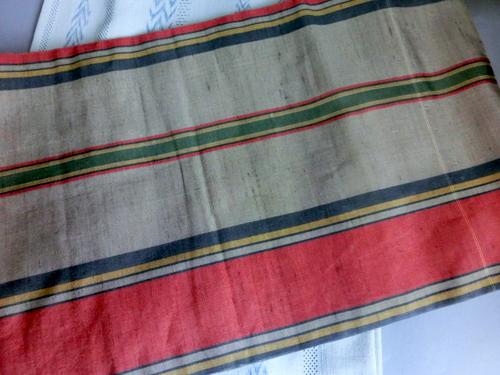 沖縄の織帯 裏