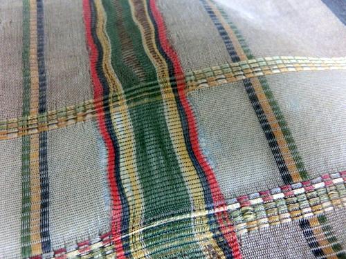 沖縄の織帯 縞