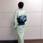 化繊 絽の着物