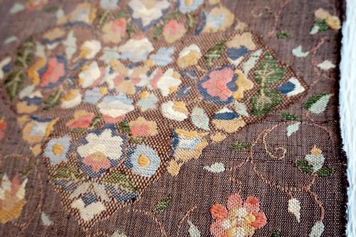八寸織 刺繍