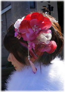 髪飾り 2