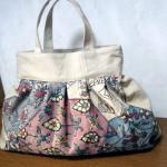 レトロかわいい♪ 八寸名古屋でグラニーバッグを作っていただきました!