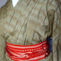 三松 キモノシモ 紬
