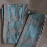 2部式 単衣 雨コート