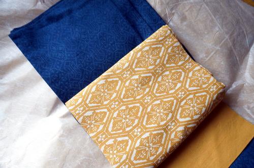 紬と帯のコーデ