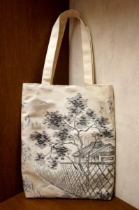 袋帯バッグ