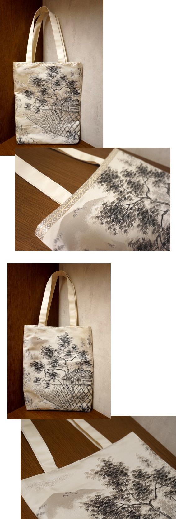 袋帯 トートバッグ