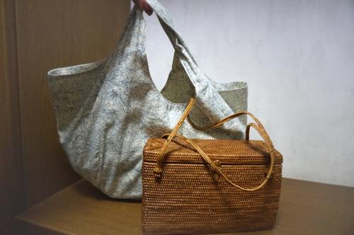 浴衣のバッグ