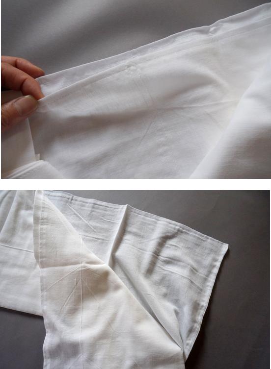 綿の裾よけ
