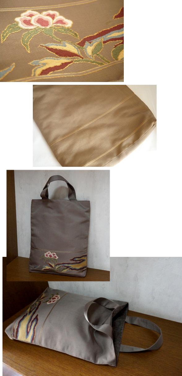 袋帯 トート