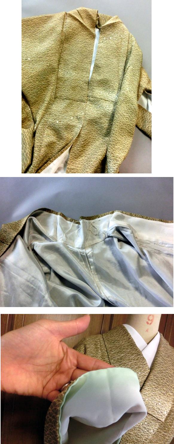 露芝 洗える着物