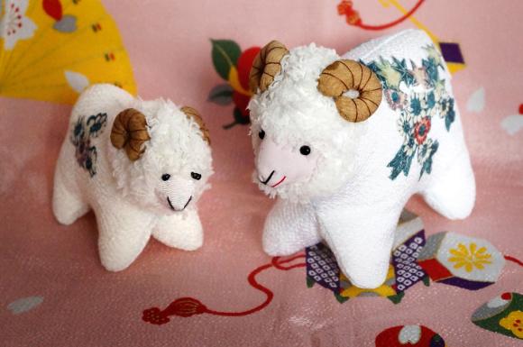 羊のおやこ