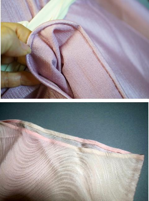 縫い代 袖口