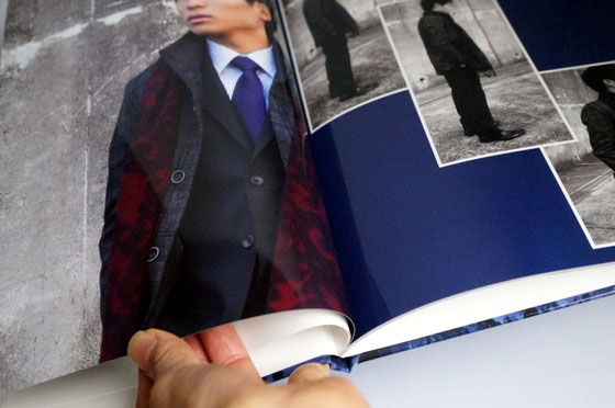 【成人式】フォトブック♪~出来上がった「超カッコイイ写真集」と写真捕りのポイント~