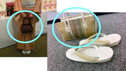 普段着用の和装バッグ
