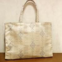 絹絣 トートバッグ