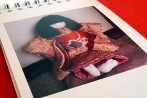 マイブック・ライフリングで「市松風の手作りお人形の作品集(ミニアルバム)」を作りました♪