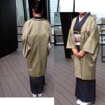 更紗紬とアンサンブル羽織
