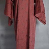 麻の葉雨コート
