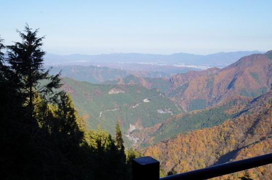 三峰神社からの景色