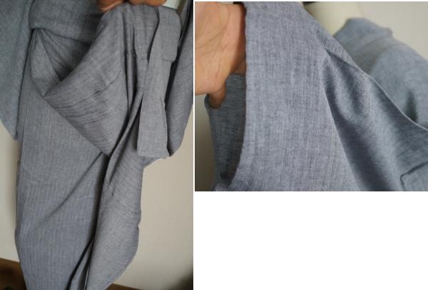 ダンガリー調浴衣2