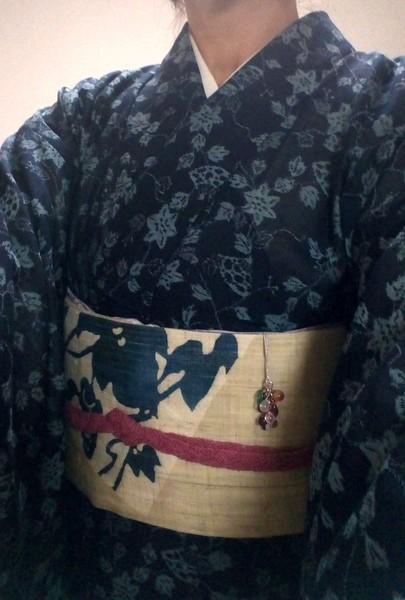 紗紬の着物