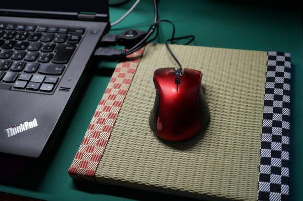 マウスパッドの畳表