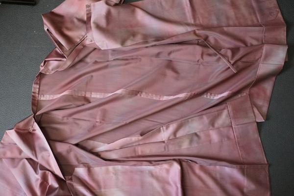 二部式雨コート単衣