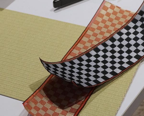 畳表と畳縁