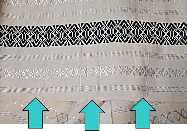 織り出し線