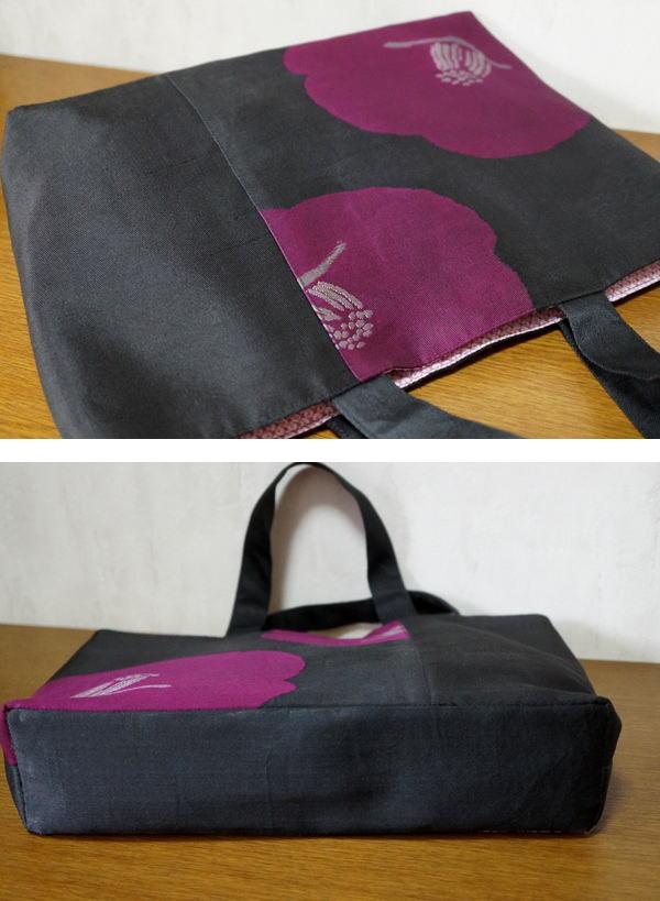 椿のバッグ写真