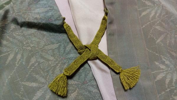 羽織紐結び方