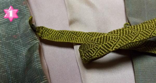 羽織紐付け方1