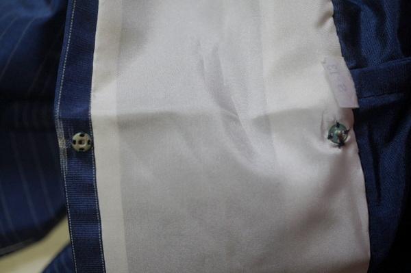 衿のボタン