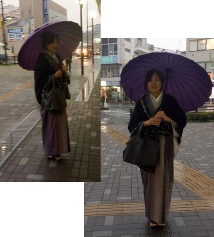 和傘使ってみたところ