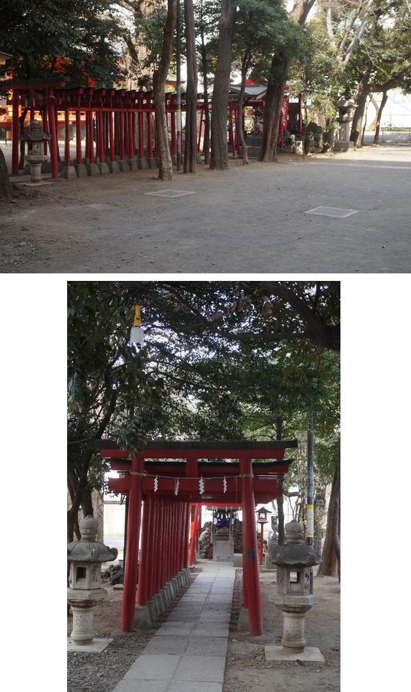 威徳稲荷神社鳥居