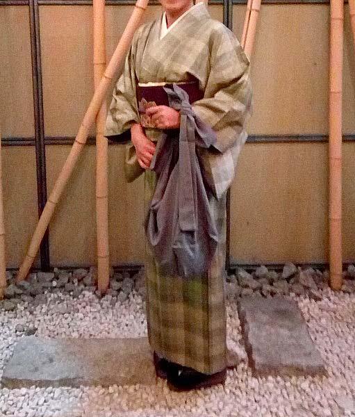 大島紬のサイズ感
