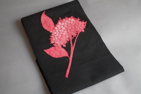 紫陽花夏帯