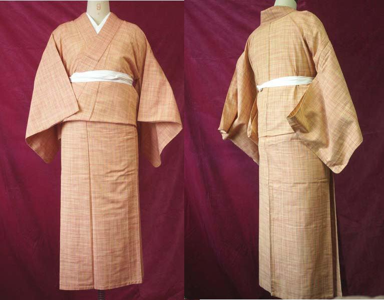 単衣紬の色