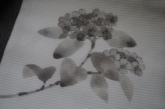 手描き紫陽花