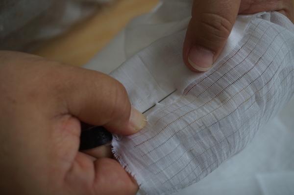 半衿縫い代